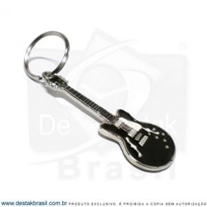 chaveiro personalizado guitarra blues black