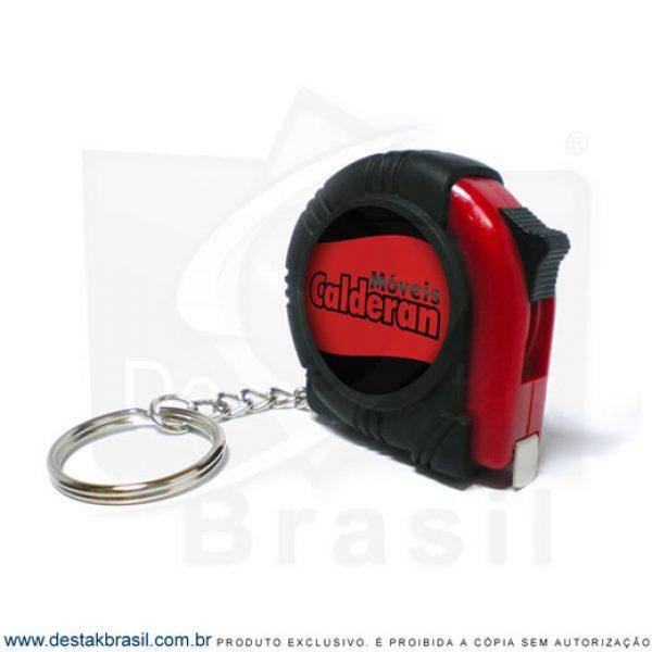 chaveiro personalizado trena portatil
