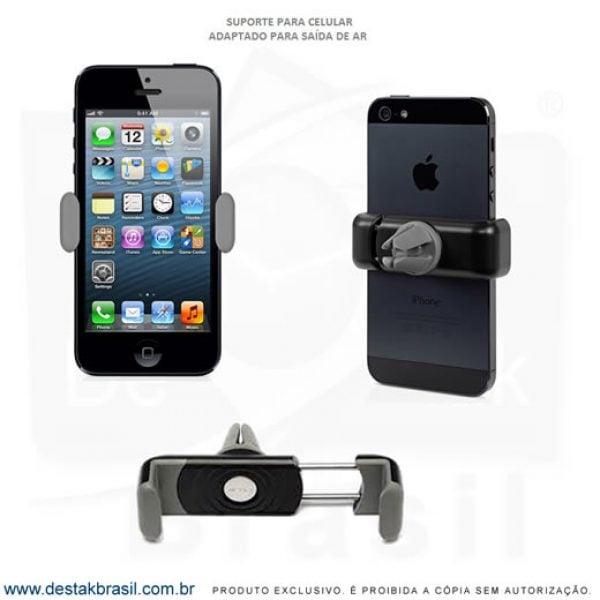 suporte veicular para celular personalizado